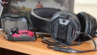 Навушники JVC HA-FX1X і гарнітура JVC HA-SR50X в якій я граю в PUBG mobile
