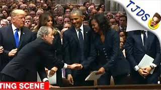 media-wets-itself-over-michelle-w-bush-candy-exchange