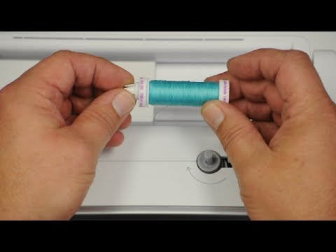 How to choose the correct spool endcap on a BERNINA sewing machine
