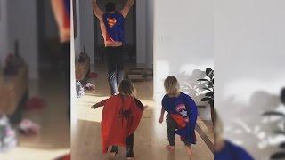 Los superhéroes de Elsa Pataky