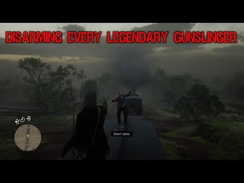 Red Dead Redemption 2 - What Happens If You Disarm Every Legendary Gunslinger?