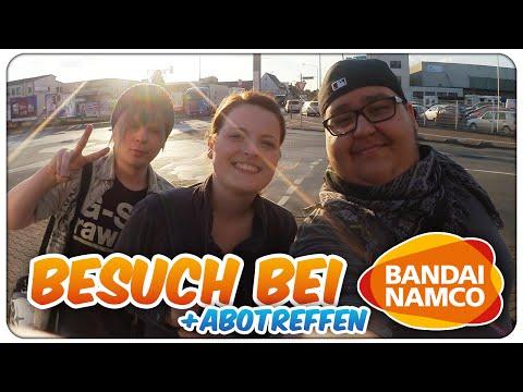 Frankfurt am Main Vlog - Besuch bei BANDAI NAMCO + Abotreffen im MYZEIL! | TheNinjaSpooky