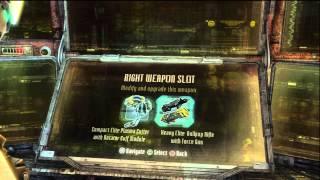 Dead Space 3 - Weapon Crafting: Bench, Blueprints, Weapon Upgrades, Craft Items, Safe, Hd Xbox 360