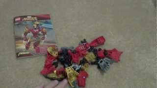 Lego 4529 Review: Marvel Super Heroes Iron Man(ultrabuild)