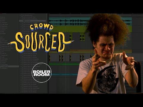 Oshi makes beats from sounds you send in | Boiler Room 'Crow