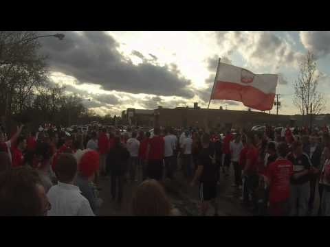 Gearheads celebrate May 3rd 2014 Polish Constitution Day in Chicago