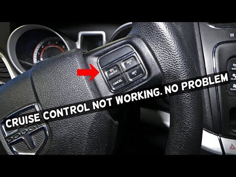 Cruise Control Should Not Be Used >> Why Cruise Control Does Not Work Cruise Control Fix Youtube