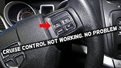 WHY CRUISE CONTROL DOES NOT WORK. CRUISE CONTROL FIX