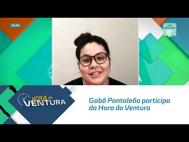 Gabô Pantaleão participa do Hora do Ventura e comenta sobre o BBB