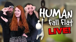 HUMAN: FALL FLAT with Ash, Rich, and Jules! | WhatCulture Gaming LIVE thumbnail
