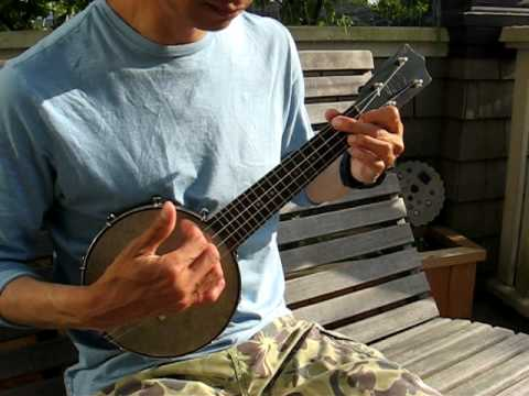 Best Banjo-lele strum in the world; hommage to Coveywood, LewDite & Doogey9