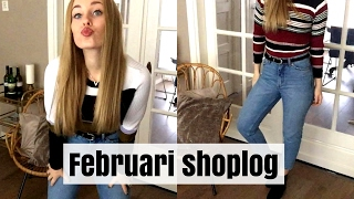 MEGA FEBRUARI SHOPLOG + TRY ON (Zara, Primark, Action, Monki, H&M) || Inge Marieke