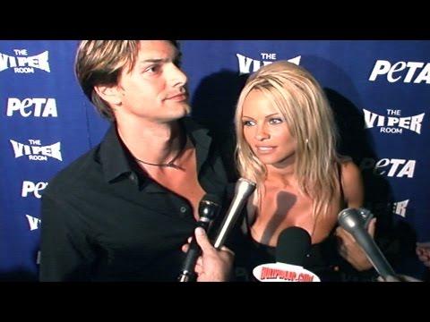 Pamela Anderson @ PETA 20th Anniversary Party 9-13-00