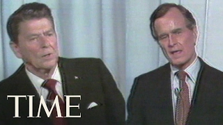 George H. W. Bush And Ronald Reagan Debate On Immigration In 1980 | TIME