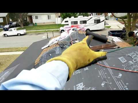 PROPER WAY to install A SECOND LAYER OF ROOF OVER EXISTING ROOF...all homeowners should know this! !
