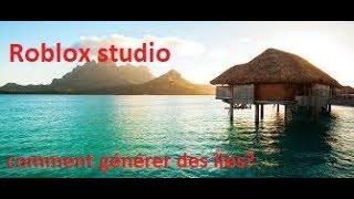 Comment faire une map avec des îles sur -Roblox studio-