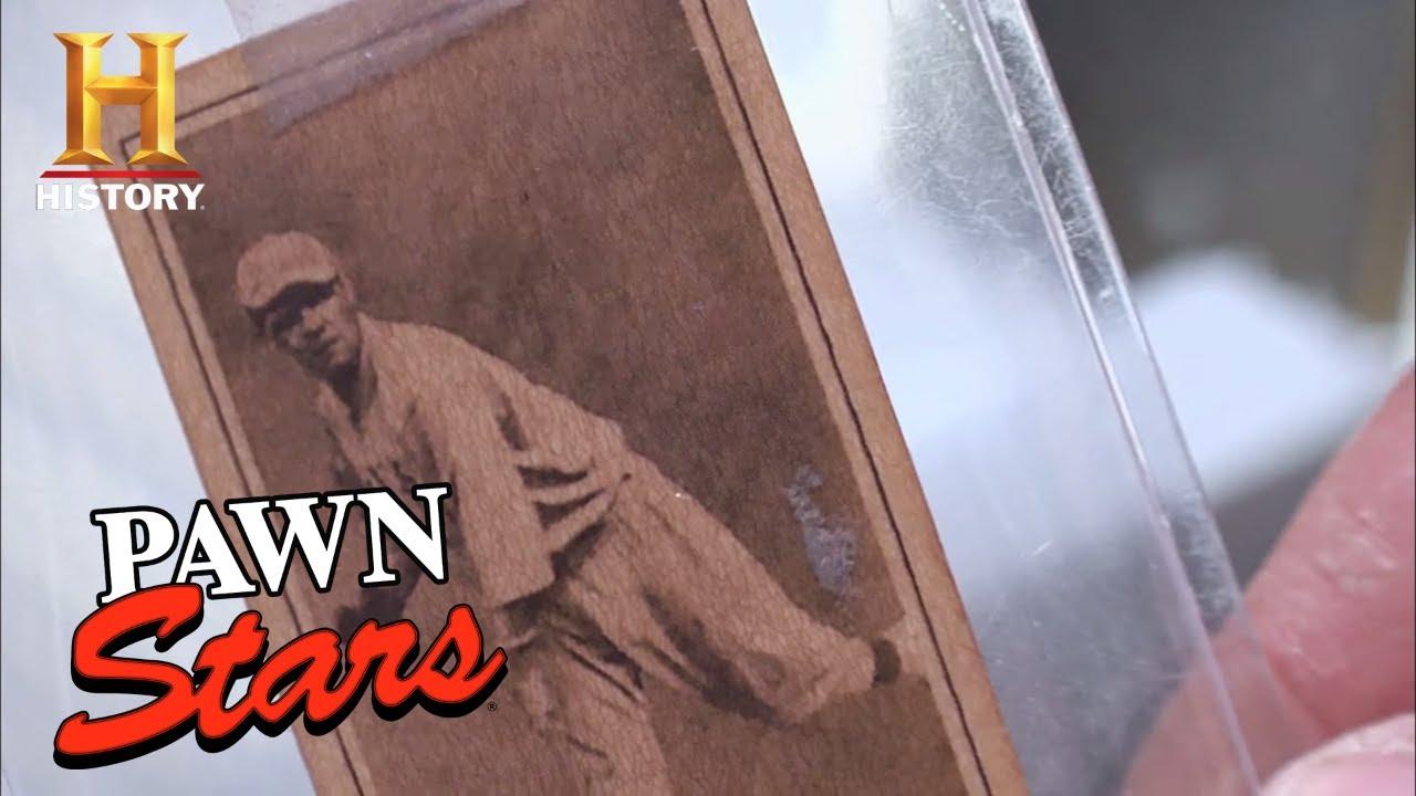Pawn Stars 1915 Babe Ruth Baseball Card Season 7 History