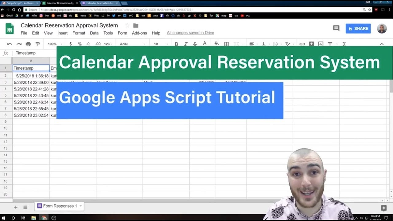 How to Code a Google Calendar Appointment Booking System - Google Apps  Script API Add On