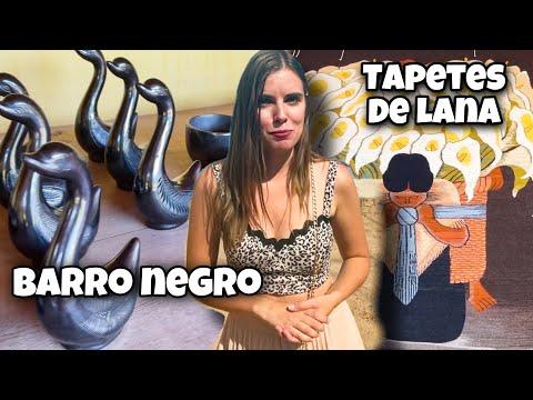 Artesanias de Oaxaca: barro negro y textiles de lana