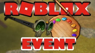 How to get Powerful Paintbrush and Mai's Sunglasses in Roblox Event Imagination 2018