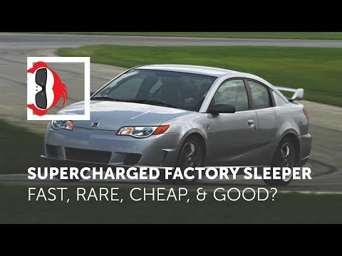 Supercharged Factory Sleeper 2007 Saturn Ion Redline Review - Is it a good fast first car?