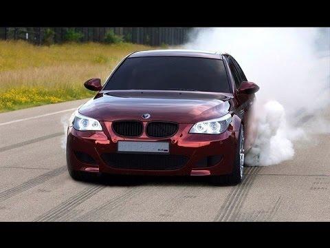 BMW M5 E60 Mad Drift \u0026 Burnout