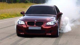 BMW M5 E60 Mad Drift & Burnout