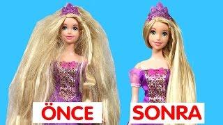 Rapunzel Rapunzel Uzat Saçlarını Ben Geldim | Yıpranmış Saçlara Bakım | Evcilik TV