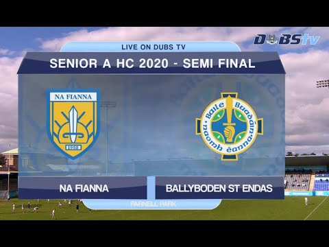 2020 Dublin Senior A Hurling Semi Final- Na Fianna v Ballyboden St Endas