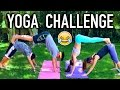 Group YOGA CHALLENGE - Boys Vs Girls | Boston Tom | Nina &  Randa comedy