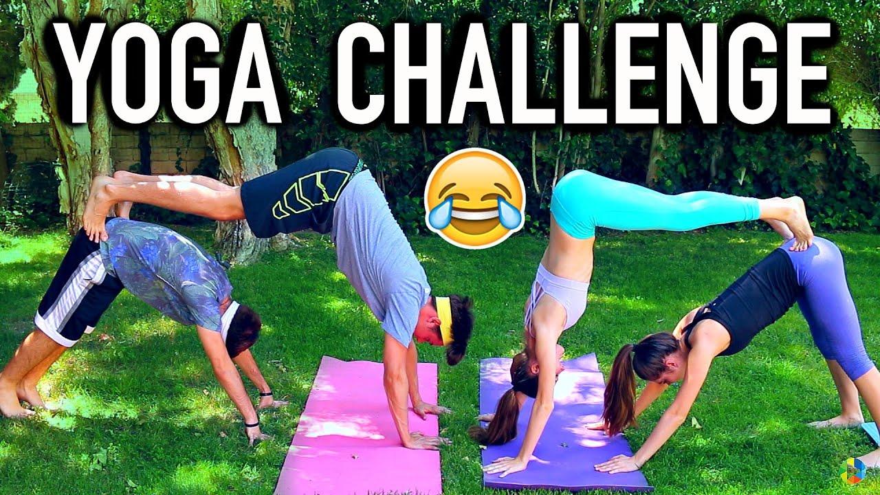 Group YOGA CHALLENGE - Boys Vs Girls - YouTube