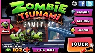 Gameplay Zombie Tsunami - All Unlocked