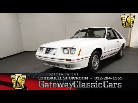 1984 Ford Mustang GT350 - Louisville Showroom - Stock # 1984