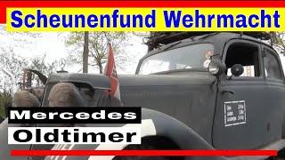 Mercedes Benz Fahrzeug der Wehrmacht