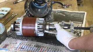 三相誘導モーターのベアリング交換