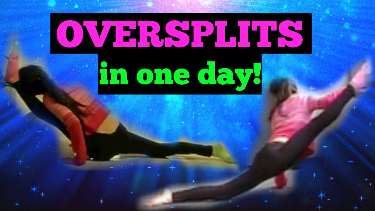 How To Get OVERSPLITS In ONE DAY YouTube