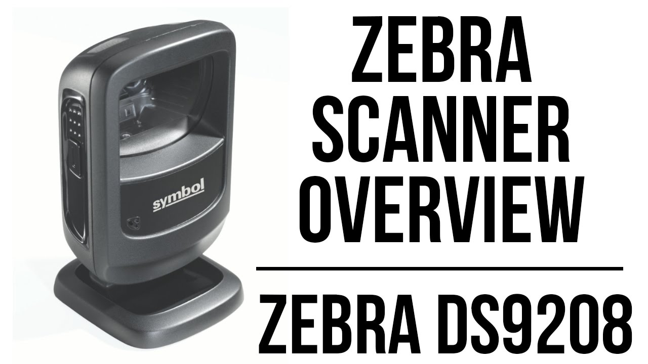 Zebra Ds9208 Overview Youtube