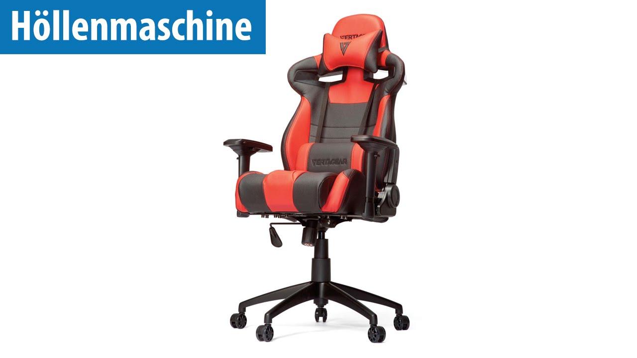 Höllenmaschine 7 Der Gaming Stuhl Vertagear SL 4000