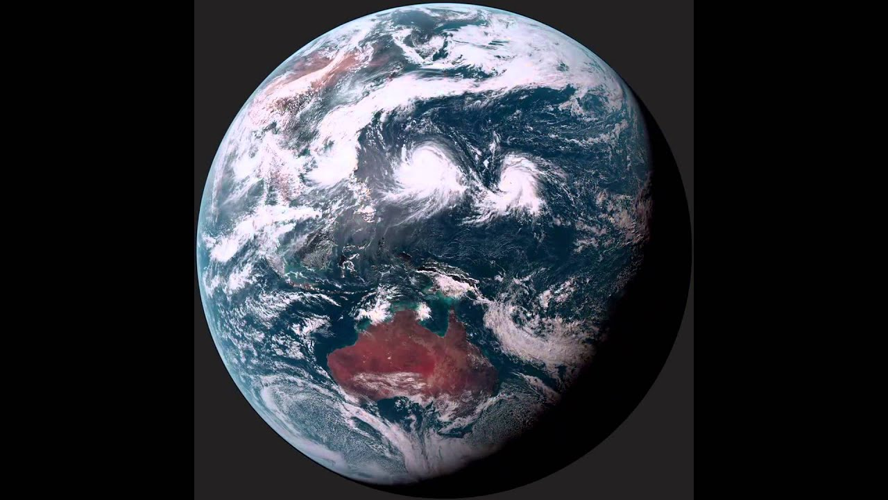 Himawari Japanese Weather Satellite Take Image Of Earth - World weather satellite live