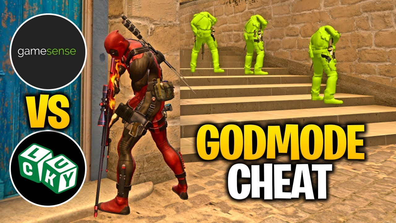 CSGO HvH ft. Godmode Cheat | Skeet.cc vs LuckyCharms