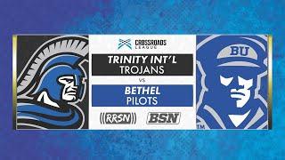 BSN Live: Baseball vs. Trinity International 9/14/19
