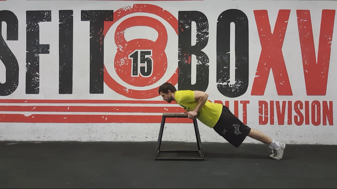 Box Push Up