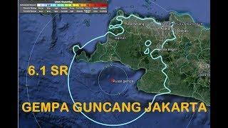 BREAKING NEWS!!! DETIK-DETIK SAAT GEMPA 23 Januari 2018 JAKARTA 6.1 SR FULL HD