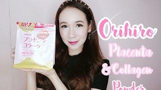 Most EFFECTIVE Skincare Supplement Ever! Orihiro Placenta & Collagen Powder Review ♡ Nicole Faller