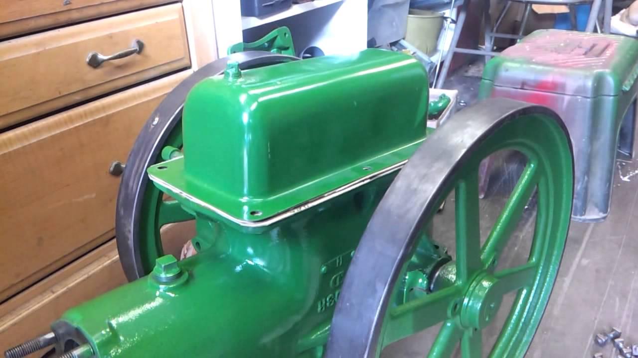 Fuel Tank 1-1//2 1.5 HP John Deere E Hit Miss Gas Engine w// Plug