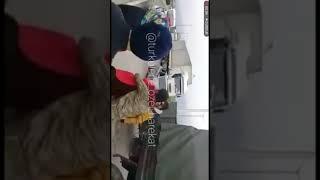 Afrin konvoyunu durdurup Mehmetçikle  Helalleşen Mehmetçiği Allah'a emanet Eden koca yürekli insanla