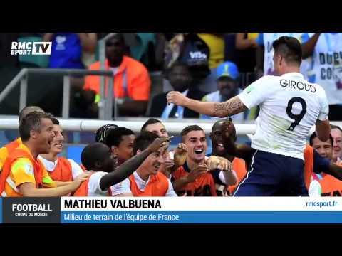 """Football / Valbuena : """"On a montré du caractère"""" 20/06"""