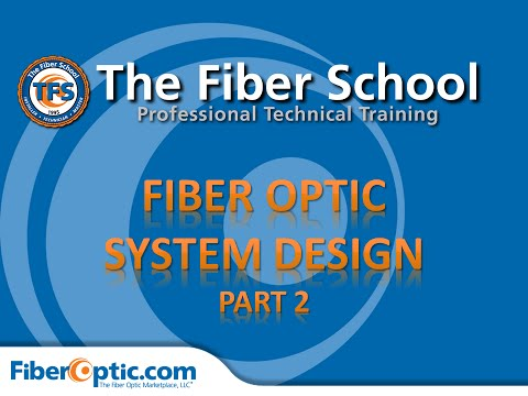 On-Demand: Fiber Optic Network Design, Part 2