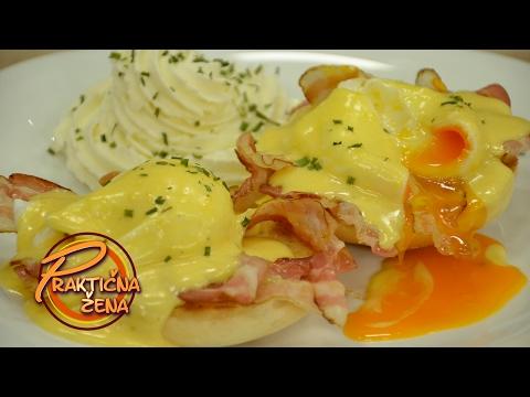 Praktična žena - Benedikt jaja i holandeze sos