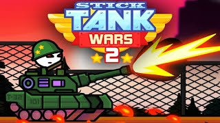 STICK TANK WARS 2 Full Game Walkthrough All Upgrades